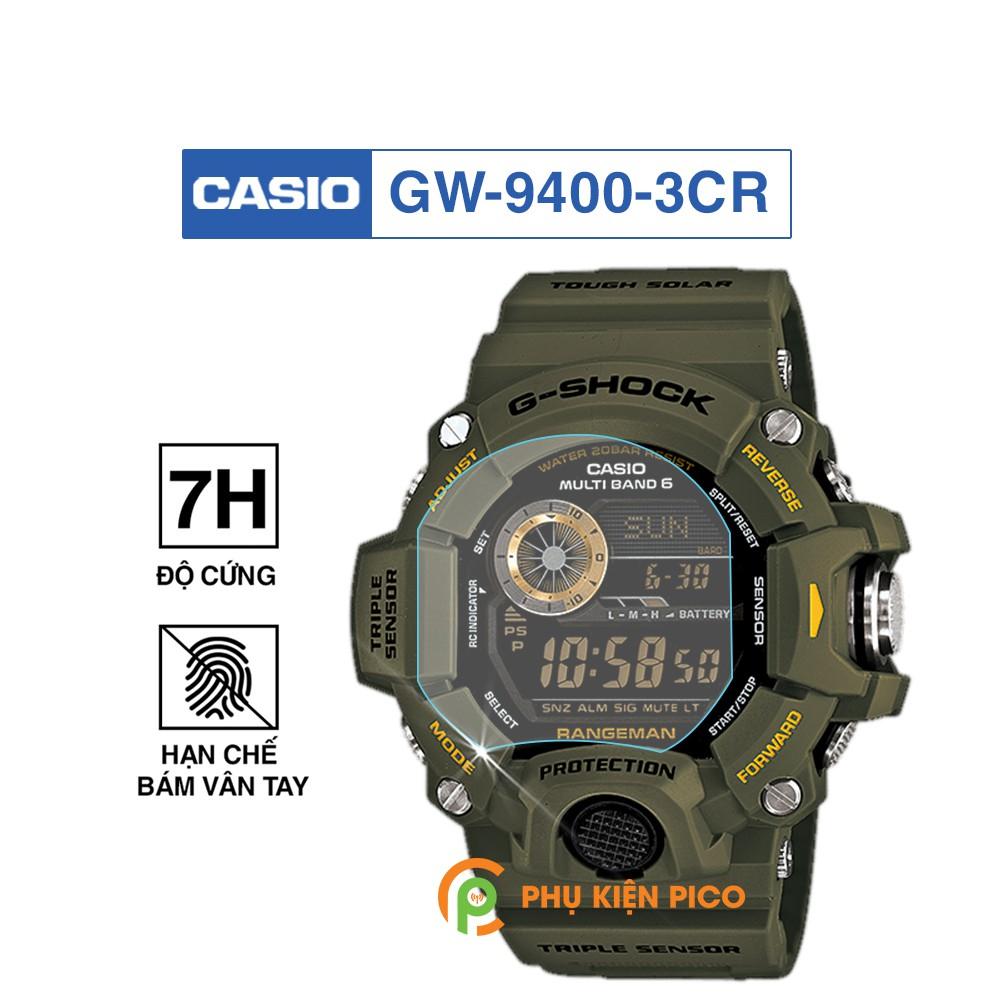 Cường lực đồng hồ Casio GW-9400-3CR độ cứng 7H chống trầy xước – Dán màn hình Casio GW-9400-3CR