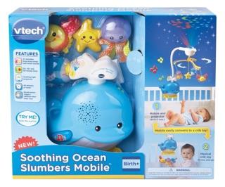 Bộ treo nôi Vtech Soothing Ocean Slumbers Mobile (BỊ LỖI MOTOR) – AN 9029
