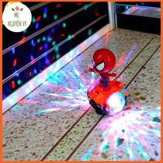 Người nhện cưỡi xe thăng bằng