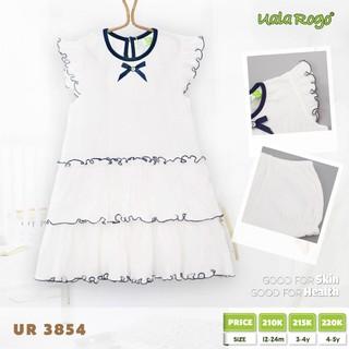 váy nhăn hai tầng Uala Rogo