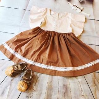 Váy HM sang chảnh cho bé