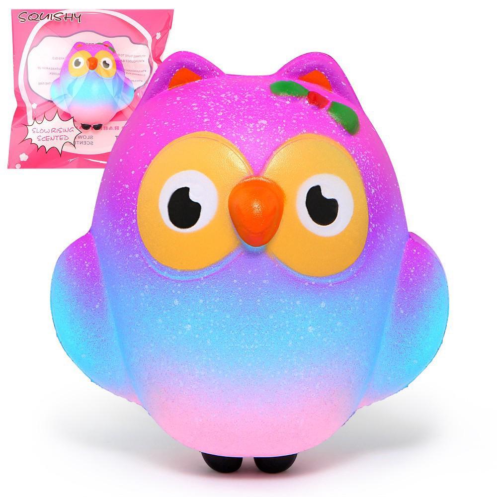 Squishy Cute Owl Slow Rising Cream Toys