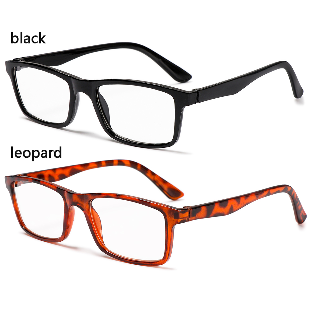 CLEVER +1.00~+4.00 Reading Glasses High-definition PC Frames Presbyopic Glasses Vision Care Portable Ultralight Unisex Eyeglasses/Multicolor