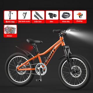 Tặng 7 món phụ kiện Xe đạp trẻ em thể thao thời thượng- khỏe khoắn. Khung hợp kim nhôm độ bền cao- Giảm xóc tốt thumbnail