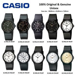 CASIO Đồng hồ nam và nữ Casio dây nhựa dẻo MQ-24 thumbnail