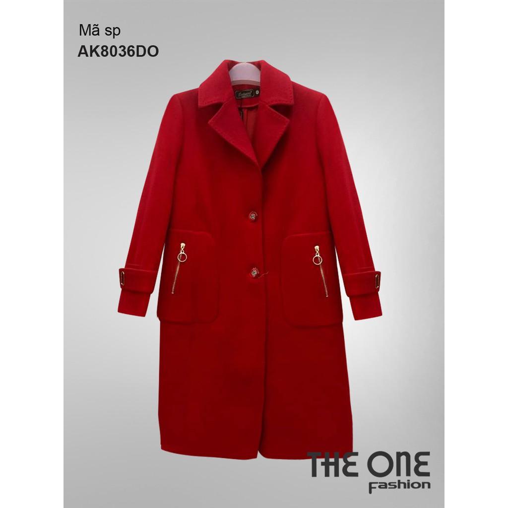 The One Fashion áo dạ dài AK8036 - 3202988 , 875100470 , 322_875100470 , 2255000 , The-One-Fashion-ao-da-dai-AK8036-322_875100470 , shopee.vn , The One Fashion áo dạ dài AK8036