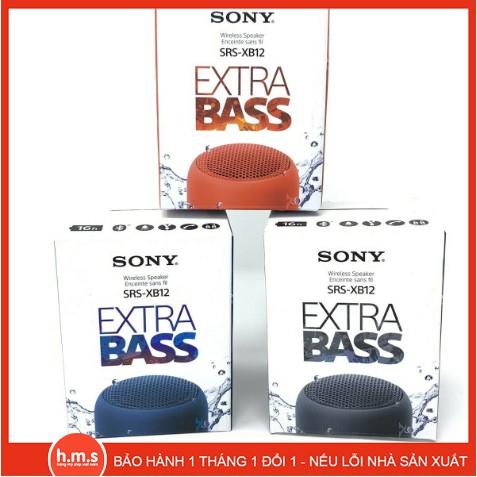 Sony SRS-XB12 Loa Bluetooth di động Extra Bass chính hãng SRSXB12 Water Proof