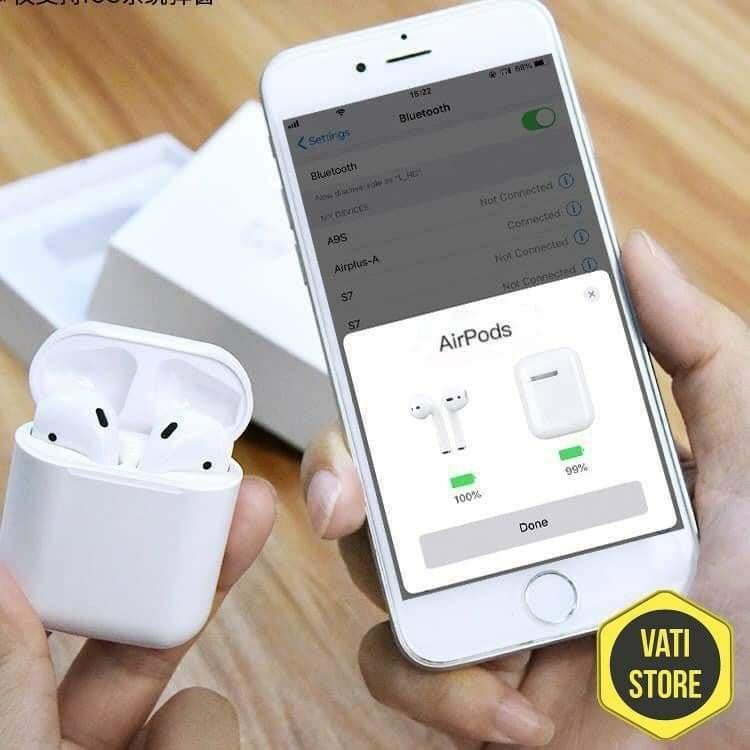 Tai nghe Bluetooth Phiên Bản Cao Cấp Nhất - Dùng cả IOS và Android