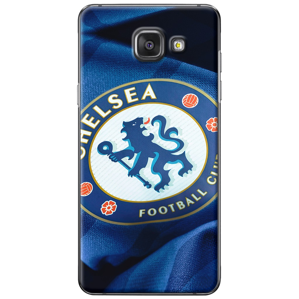 Ốp lưng dẻo Samsung A5 2016 Chelsea xanh 3d