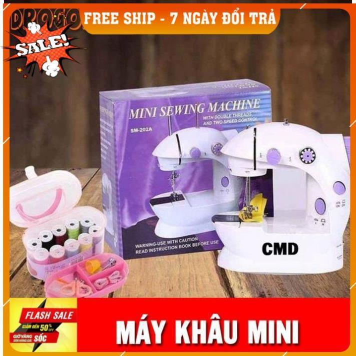[FREESHIP TOÀN QUỐC] [ Bảo hành 6 tháng] Máy may mini CMD có đèn led may vá tại nhà rất tiện dụng