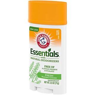 Lăn sáp khử mùi unisex Arm & Hammer Essentials Natural Deodorant Fresh 71g (Mỹ) thumbnail