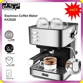 Máy pha cà phê đa năng thương hiệu cao cấp DSP KA3028 – Công suất: 850W – Kích thước: 21.5x25x28.8cm – Hàng Nhập Khẩu