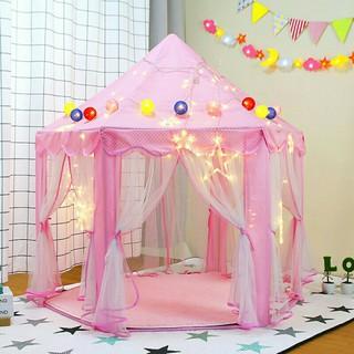 Lều Ngủ Công Chúa, Lều Hoàng Tử Lều cho bé Mẫu Mới KÈM BÓNG NHÁY