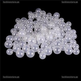 FS 50pcs lot Baby Safety Transparent White Plastic Pool Ocean BalFunny Toys[VN]