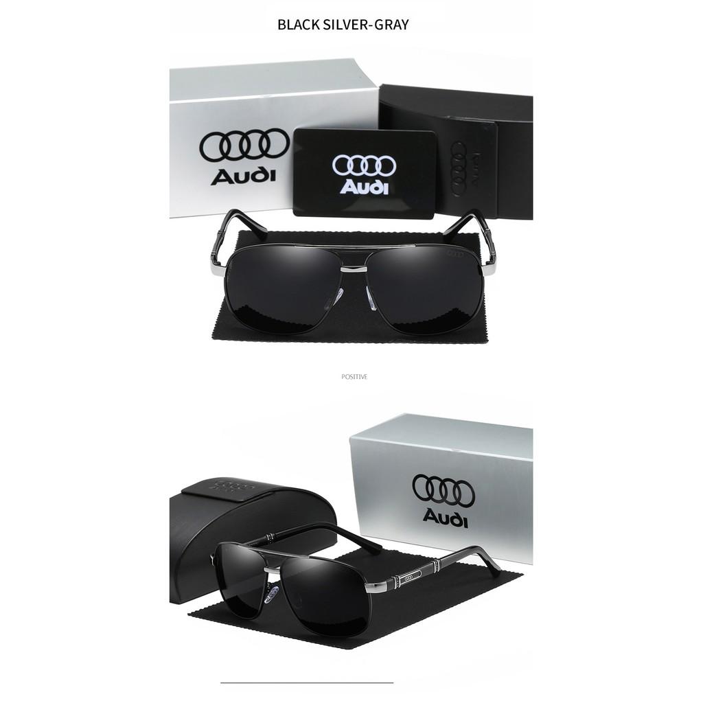 Kính Mát Tròng Vuông Phân Cực Cho Nam Audi 4s