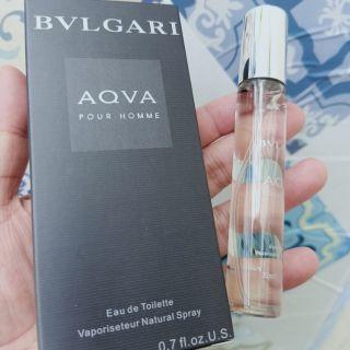 (20ml) Nước Hoa Nam Bvlgari Aqva pour homme
