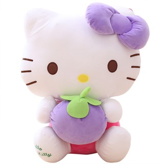 Aoger Aojie hello kitty doll plush toy ha喽 kt doll doll birthday gift girl