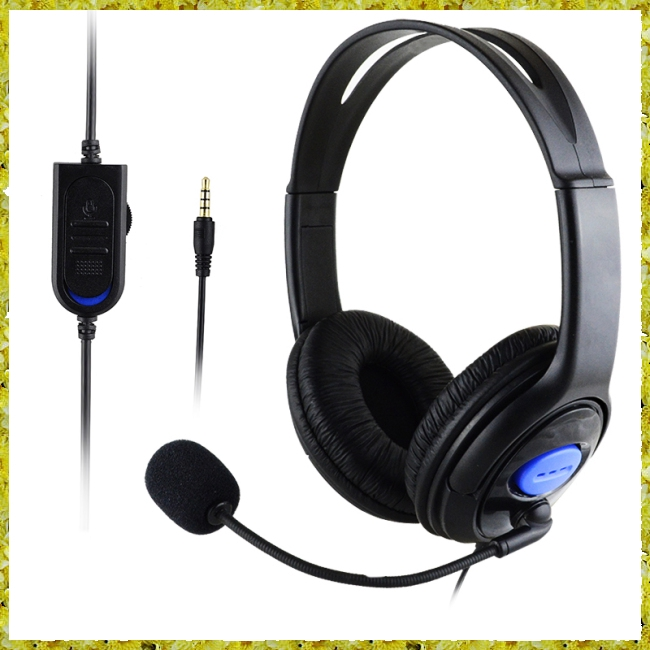Stereo Wired Gaming Headsets Headphones with Mic for PS4/PC 890 Giá chỉ 79.800₫