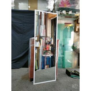 Gương soi toàn thân decor kích thước 40 x 110 cm (Khung nhôm cao cấp màu trắng)
