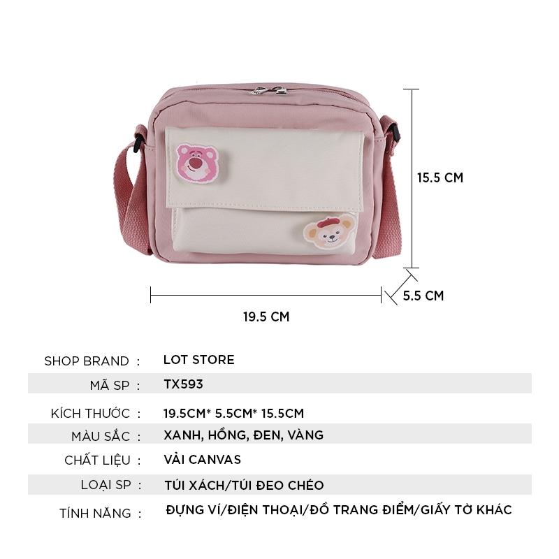 Túi xách nữ thời trang đẹp đeo chéo giá rẻ cao cấp công sở LOT STORE TX593