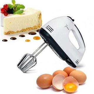 [HÀNG SẴN] Máy Đánh Trứng Đánh Kem 7 Cấp Độ Cao Cấp + Tặng Kèm 2 Que Nhào Bột Tiện Dụng