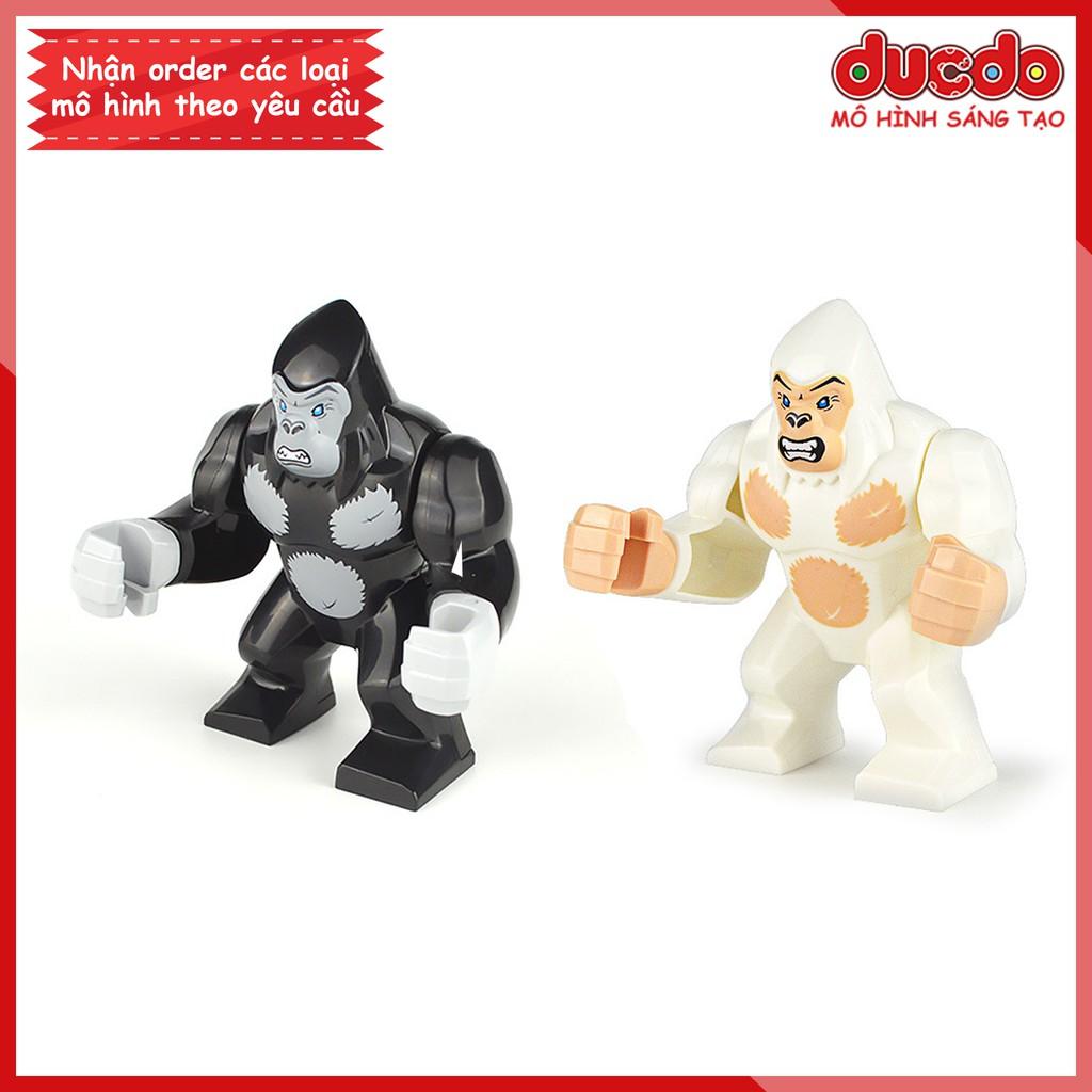 Minifigures khỉ đột King Kong - Đồ chơi Lắp ghép Xếp hình Mini Mô hình
