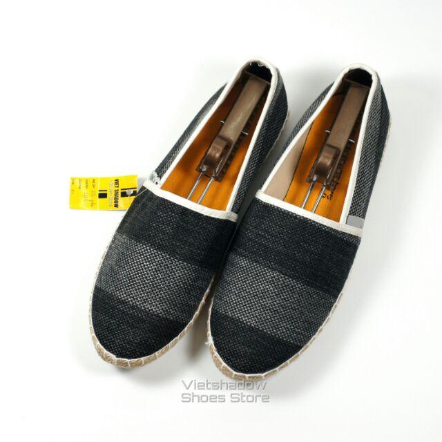 Slip on | giày lười vải nam đế bo đay, vải sọc ghi/đen to bản - Mã SP: 605 - 10034363 , 134924840 , 322_134924840 , 255000 , Slip-on-giay-luoi-vai-nam-de-bo-day-vai-soc-ghi-den-to-ban-Ma-SP-605-322_134924840 , shopee.vn , Slip on | giày lười vải nam đế bo đay, vải sọc ghi/đen to bản - Mã SP: 605