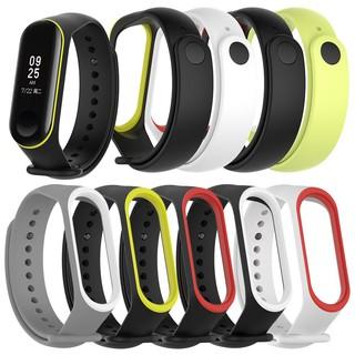Dây đeo silicon mềm cho đồng hồ Xiaomi Mi Band 3