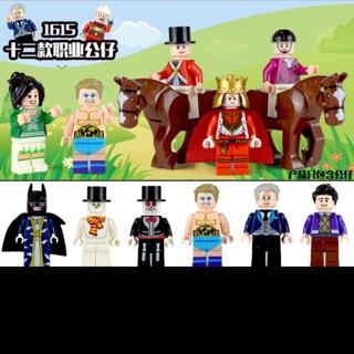 bộ 6 lego giong minifigure nhà vua #2