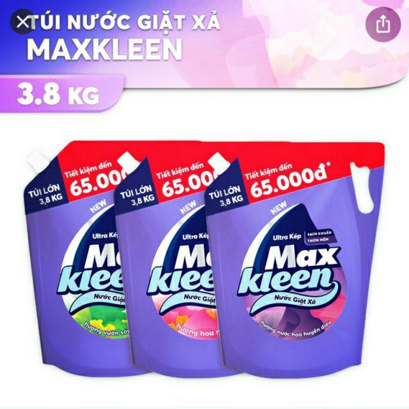 Nước giặt Maxkleen 3.8kg giá rẻ