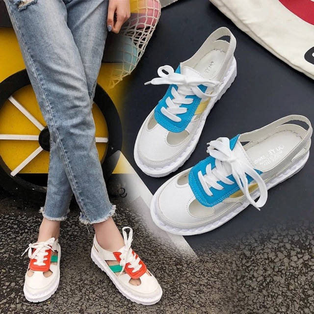 giày buộc dây kiểu mới