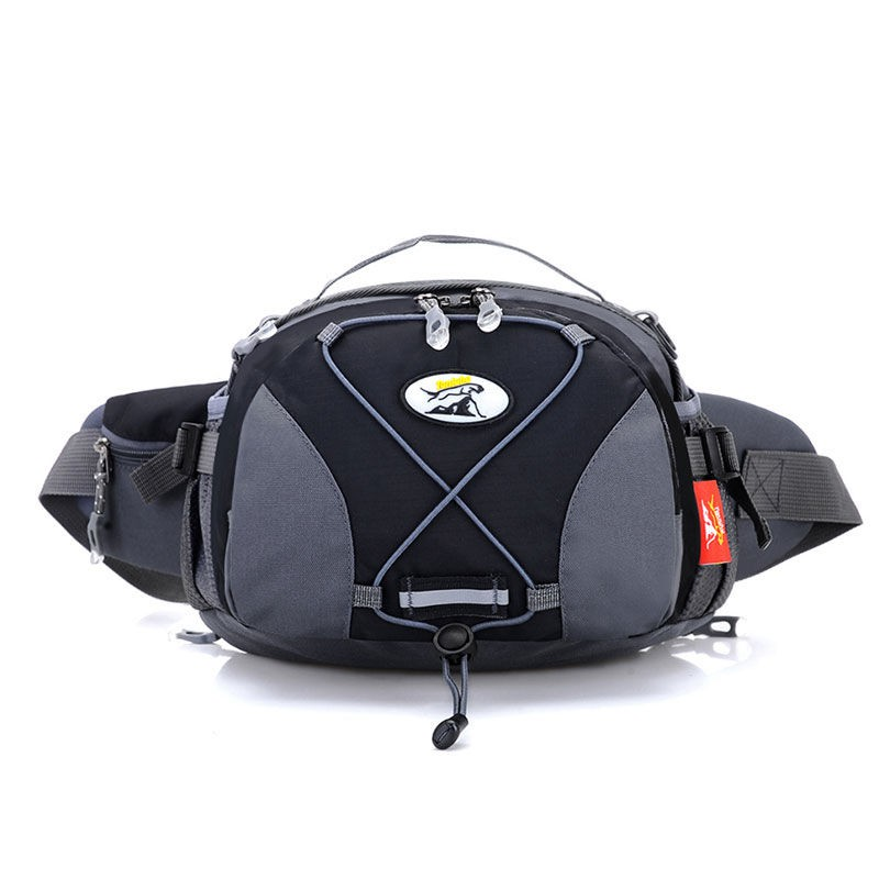 ❣❡✾Pocket waterproof outdoor sport utility three pockets with one shoulder hand unisex mountaineering trip big