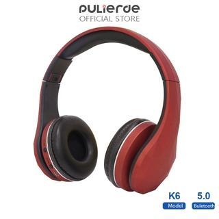 Tai nghe Bluetooth PULIERDE K6 nhỏ gọn điều chỉnh được kèm Microphone