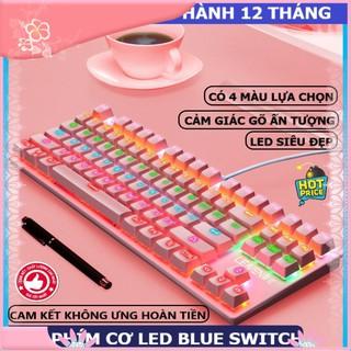 Hàng sẵn sàng Bàn phím cơ gaming máy tính K550, 10 chế độ led khác nhau, thích hợp chơi game, dùng văn phòng cho pc, l thumbnail