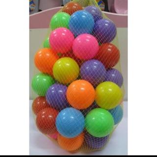Set 50 trái bóng nhựa 6,5cm loại 1