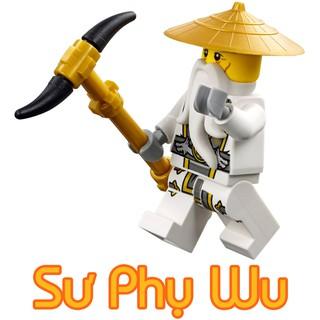 LEGO Minifigures Ninjago Sensei Wu – Nhân Vật LEGO Ninjago Chính Hãng Đan Mạch