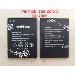 Pin CHÍNH HÃNG mobiistar Zoro 3 , mã pin BL-200h thumbnail