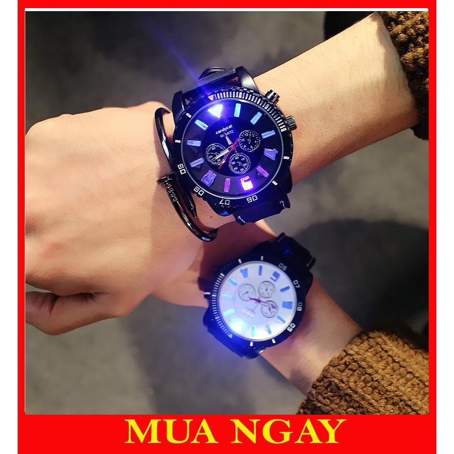 Đồng hồ nam điện tử phát sáng cá tính JIS DH66