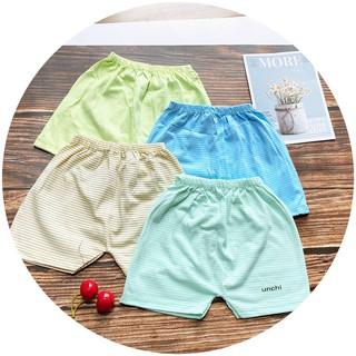 Quần Chục Quần Đùi Hãng Unchi Họa Tiết Kẻ Chất Cotton Mềm Mát QATE256 - NamKidShop