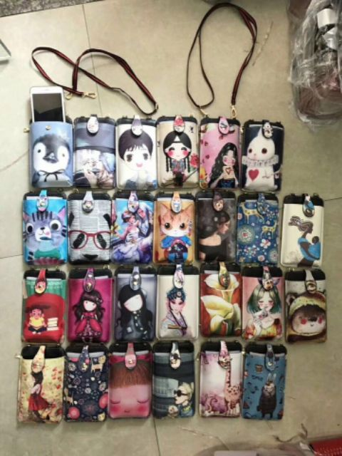 Túi đựng điện thoại hàng da đẹp