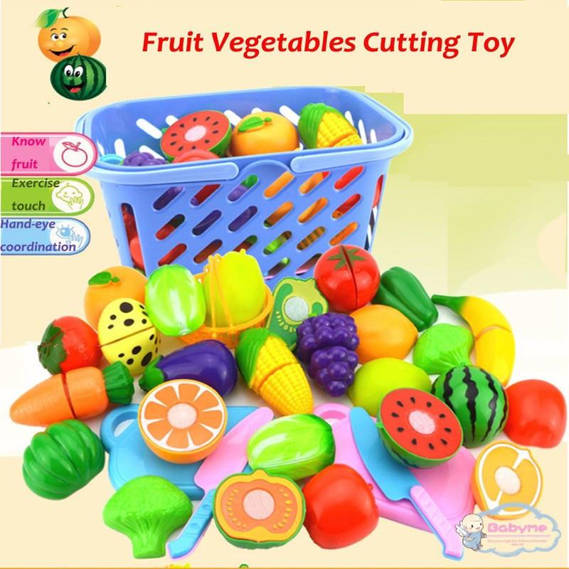 Trái cây đồ chơi bằng nhựa cho bé