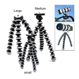 PK Giá đỡ tripod linh hoạt cho máy ảnh kèm kẹp gắn điện thoại