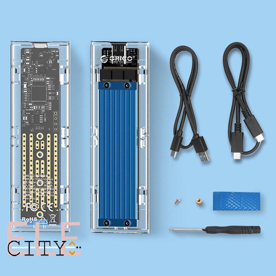 Ổ Cứng Ngoài Tcm2-C3 M.2 Nvme Cổng Type-C Usb 3.1