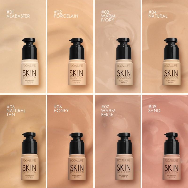 Bộ 4 sản phẩm FOCALLURE gồm kem nền + chì kẻ mày + bút kẻ mắt + mascara đa năng