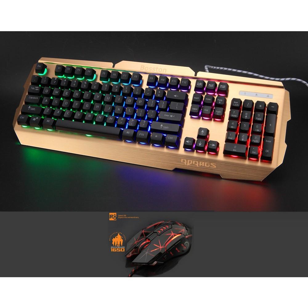 Bộ bàn phím giả cơ và chuột chơi Game Rdrags R300 - R8 1650 (Đen)