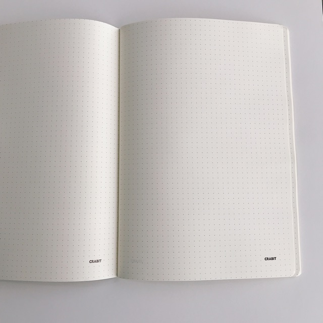 Dotted Notebook - Vở học sinh kẻ chấm - Xanh lá hồng (1618)