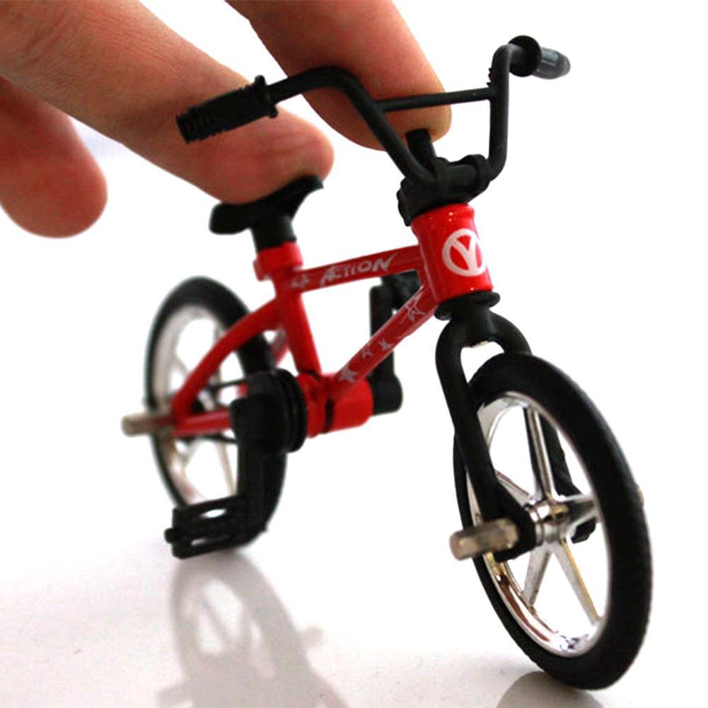 Fingerboards 4.4 Mini Fuctional Finger Mountain Bike BMX Fixie Bicycle Toy