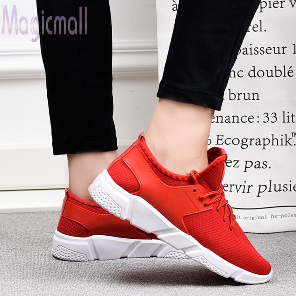 Giày thể thao nữ đế dày cột dây thoáng khí thời trang đơn giản