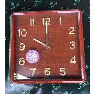 [Hàng loại 1] Đồng hồ treo tường dạ quang kashi kim trôi