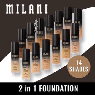 [Hàng Ý BestSheler] Kem Nền Milani CONCEAL + PERFECT 2 In 1 Foundation + Concealer (30ml) thumbnail